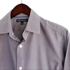 "BR Solid ""Non-Iron Tailored Slim Fit"" Dress Shirt"